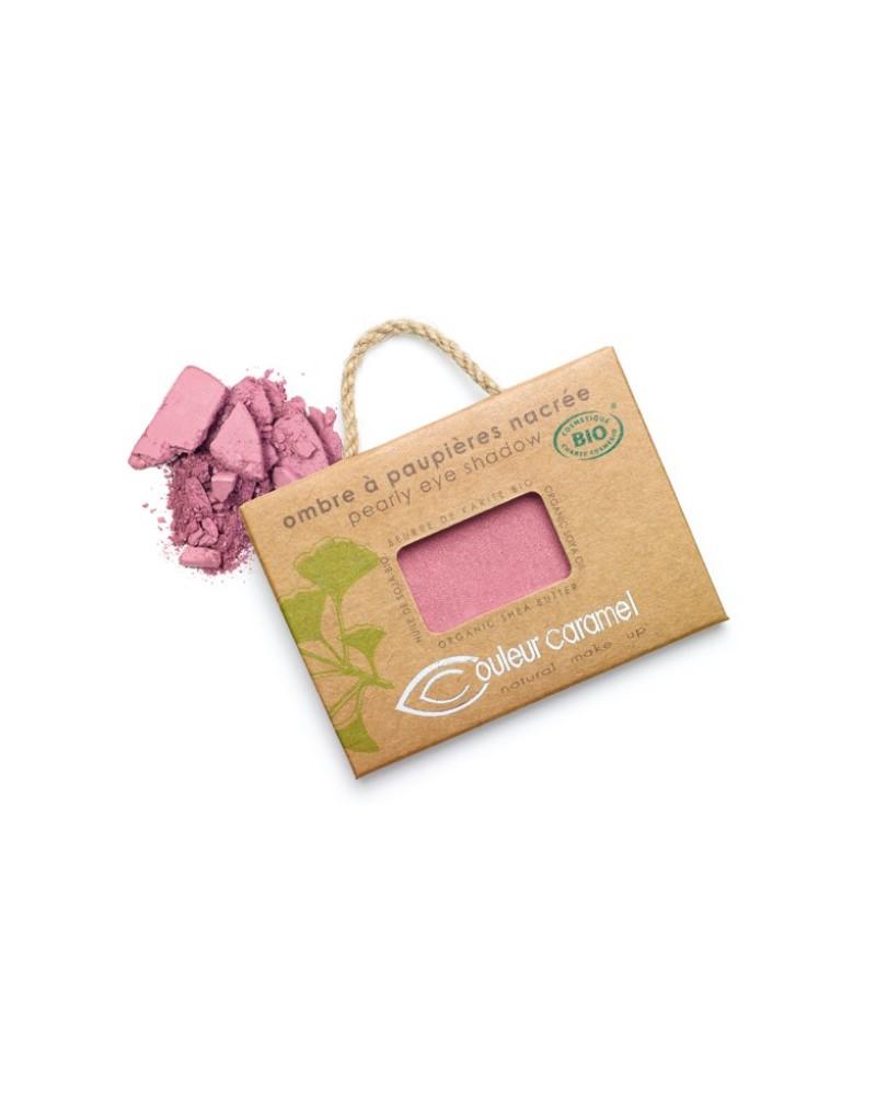 Couleur caramel 111066 ombre a paupieres nacree bio vieux rose 66 embellissetvous fr
