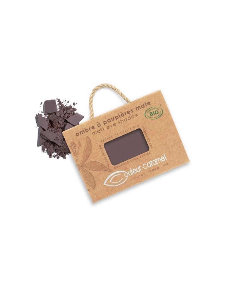 Couleur caramel 111081 ombre a paupieres mat bio brun intense 81 embellissetvous fr