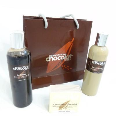 Trio Sensation Chocolat exfoliant