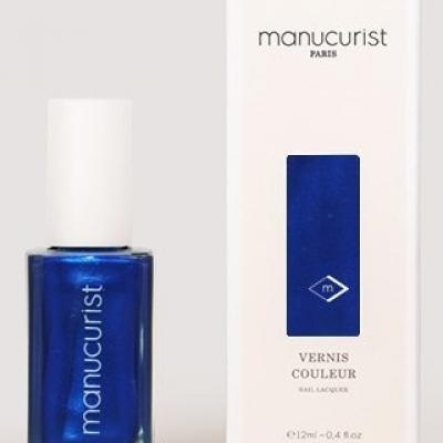 Vernis BLEU N°4 - Bleu électrique