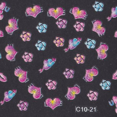 Stickers ref C10-21