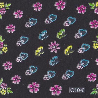 Stickers ref C10-6