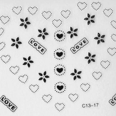 Stickers ref  C13-17