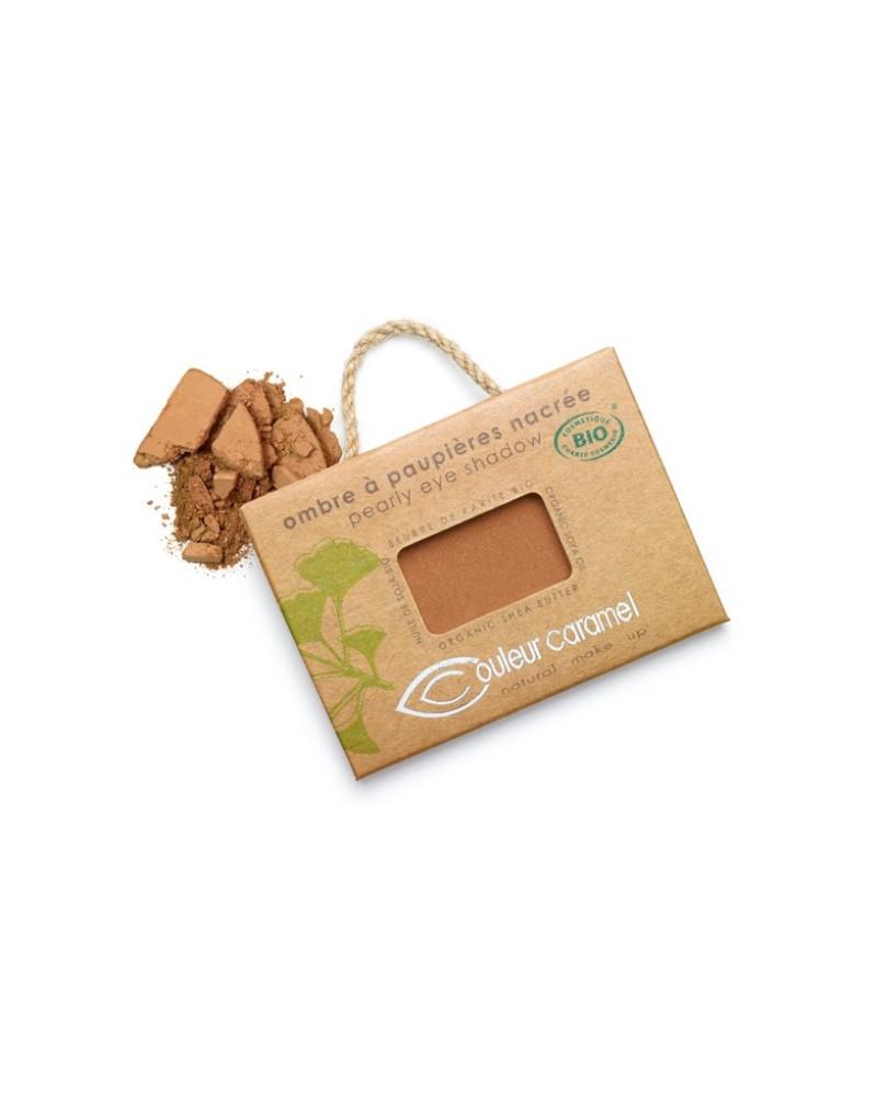 Couleur caramel 111099 ombre a paupieres nacree bio pepite cuivree 99 embellissetvous fr