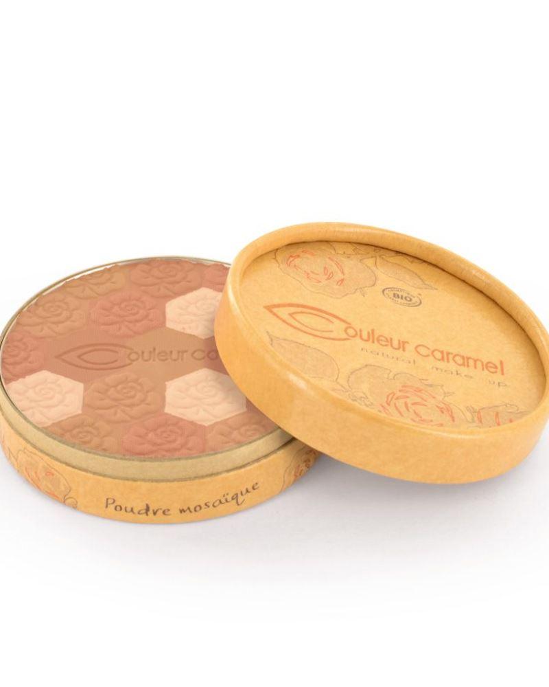 Couleur caramel 111233 poudre mosaique tein mat embellissetvous fr