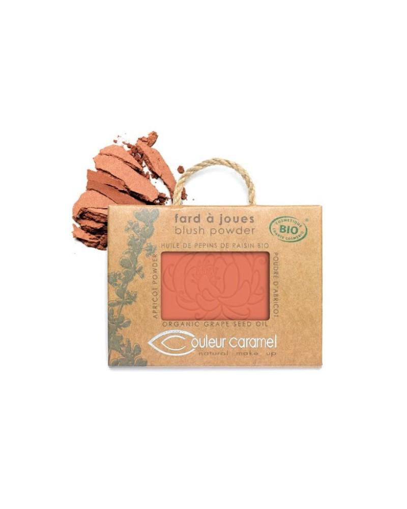 Couleur caramel 111551 fard a joues bio mat peche 51 embellissetvous fr