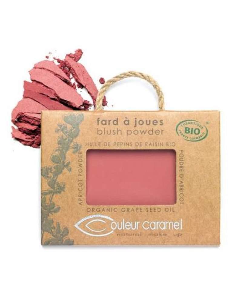 Couleur caramel 111557 fard a joues bio mat vieux rose 57 embellissetvous fr