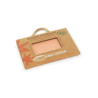 Poudre compacte Beige Orangé n°4 - Couleur Caramel