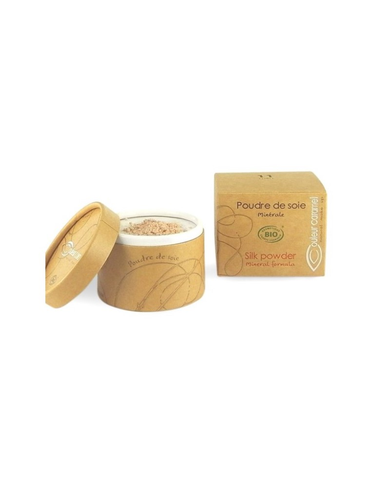 Couleur caramel 111811 poudre de soie bio embellissetvous fr