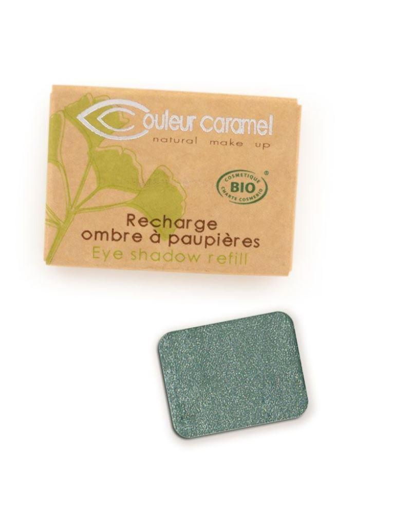 Couleur caramel 119050 recharge ombre a paupiere vert bleute 50 embellissetvous fr