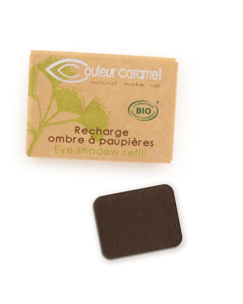 Couleur caramel 119081 recharge ombre a paupieres mate brun intense 81 embellissetvous fr
