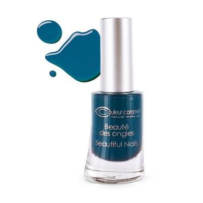 Vernis à Ongles 59 - Bleu Profond Couleur Caramel