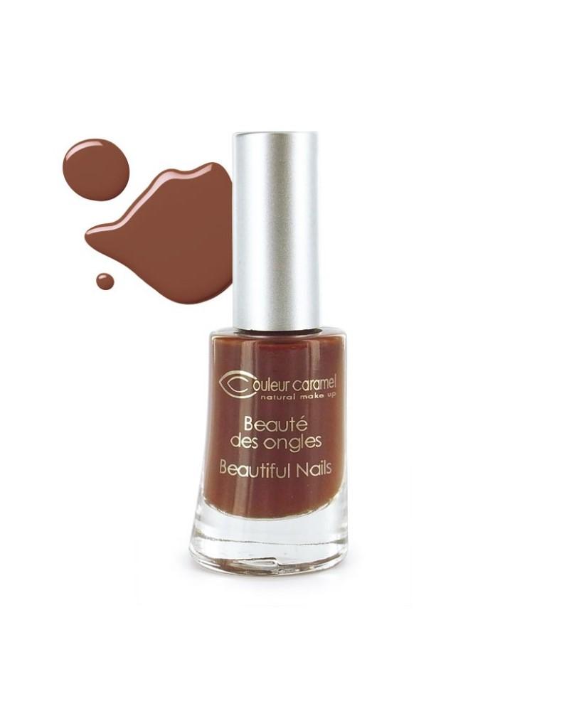 Couleur caramel vernis a ongles brillants chocolat 10 118810 embellissetvous fr