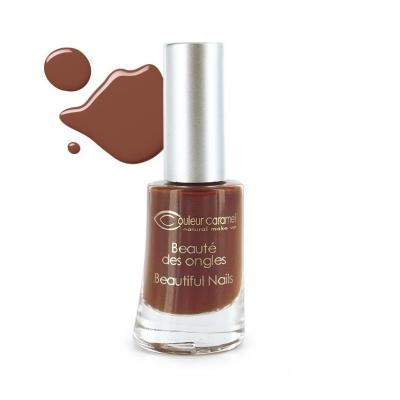 Vernis à Ongles 10 - Chocolat Couleur Caramel