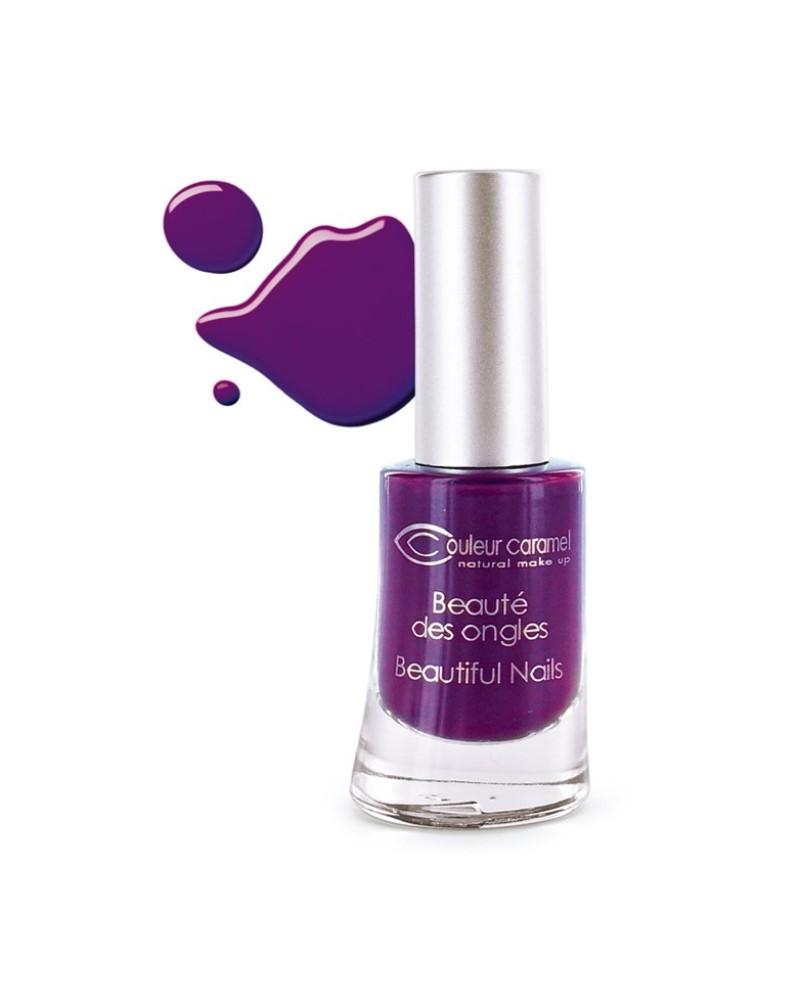 Couleur caramel vernis a ongles brillants prune electrique 60 118860 embellissetvous fr
