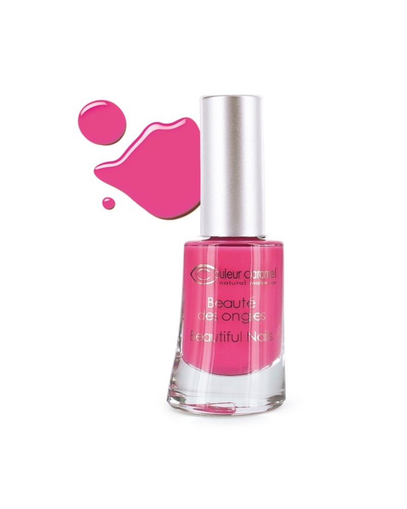 Couleur caramel vernis a ongles brillants rose flash bikini 52 118852 embellissetvous fr