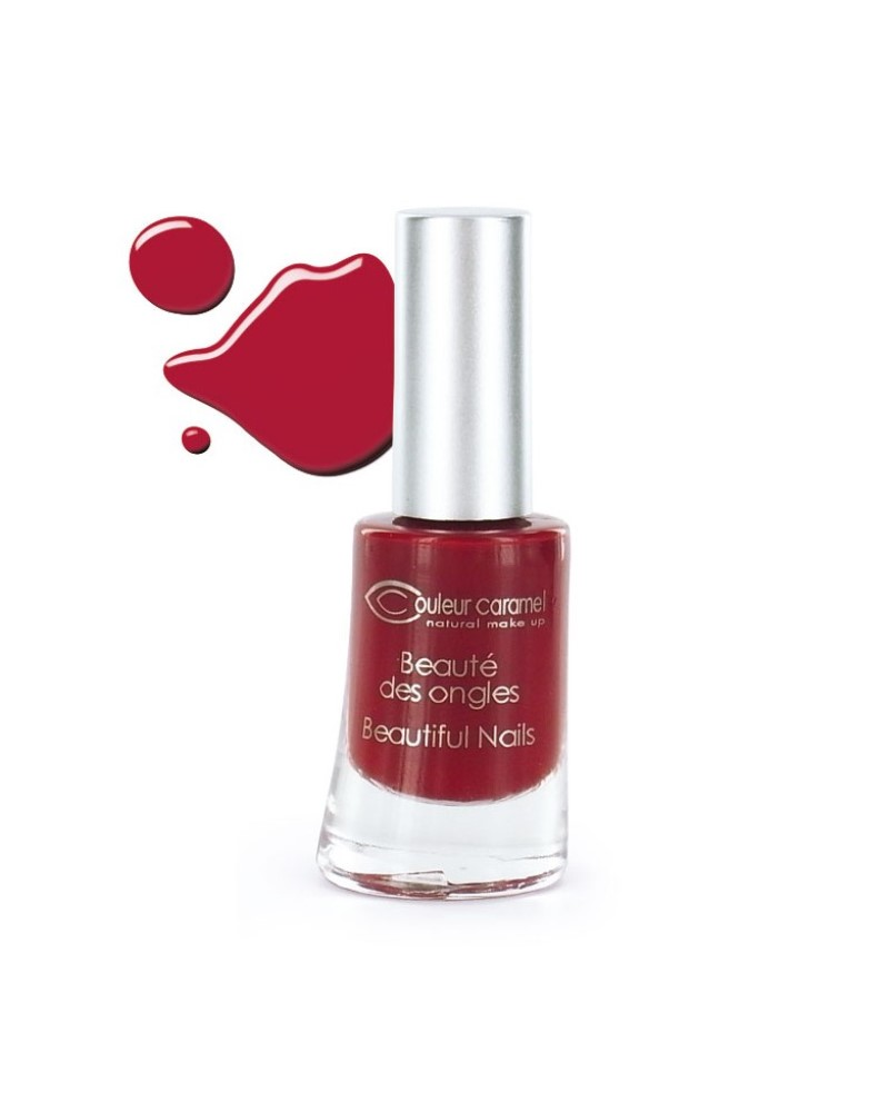 Couleur caramel vernis a ongles brillants rouge 8 118808 embellissetvous fr