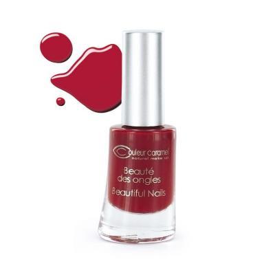 Vernis à Ongles 08 - Rouge Couleur Caramel