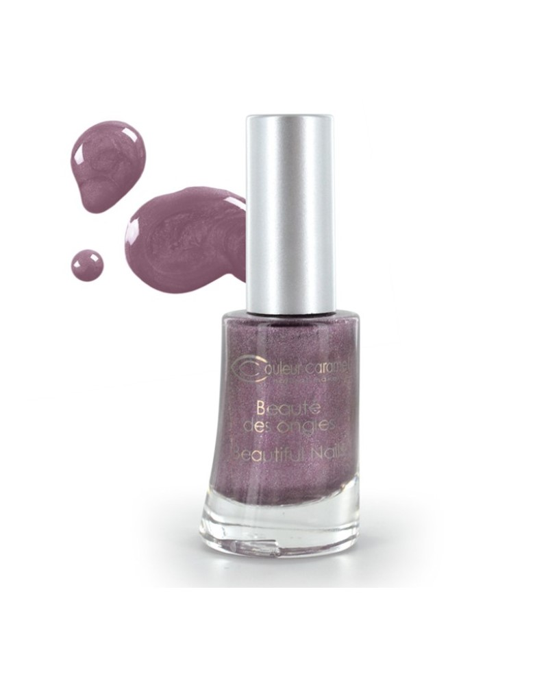 Couleur caramel vernis a ongles nacres violet 69 118869 embellissetvous fr