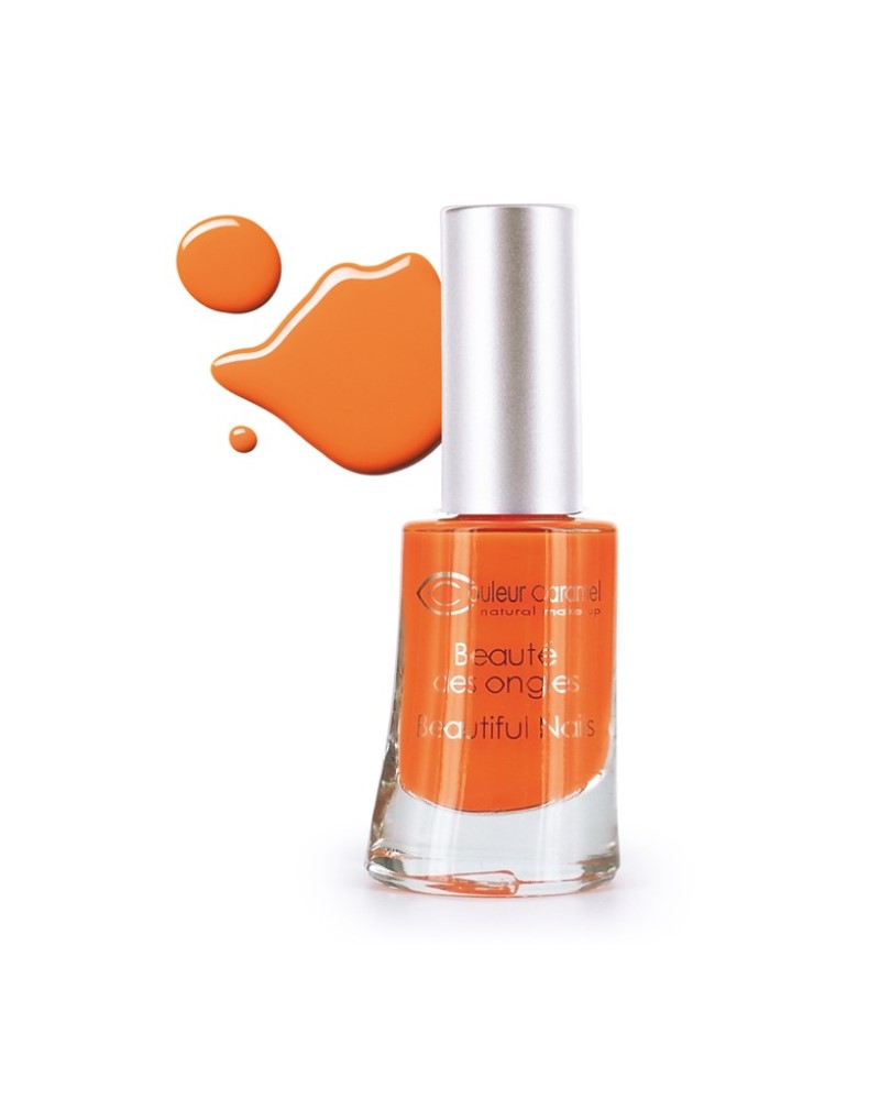 Couleur caramel vernis a ongles orange 54 3700306988541 embellissetvous fr