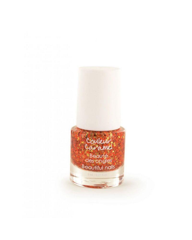 Couleur caramel vernis a ongles paillete 118886 embellissetvous fr