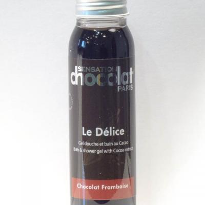Gel douche Délice Chocolat / Framboise - Travel 30ml