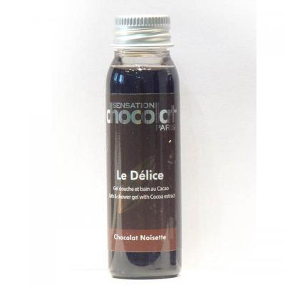 Gel douche Délice Chocolat / Noisette - Travel 30ml