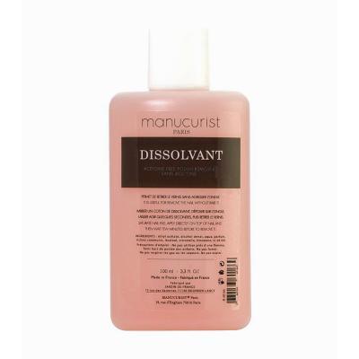 Manucurist - Dissolvant Sans acétone 100 ml