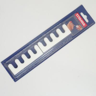 Séparateurs orteils x2 - blanc