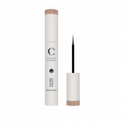 Eyeliner Noir Pailleté - Couleur Caramel