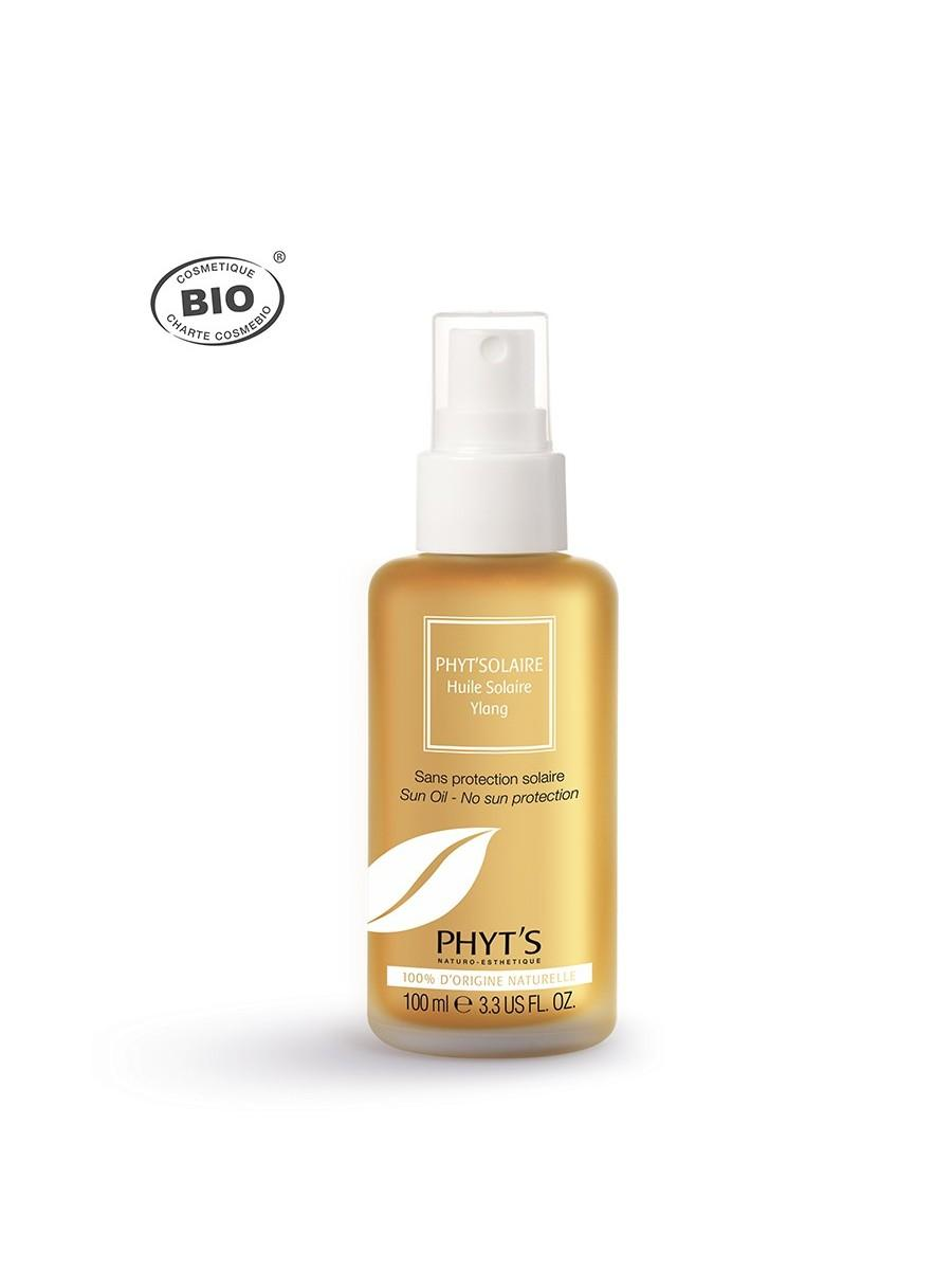 Huile solaire ylang phyts embellissetvous fr