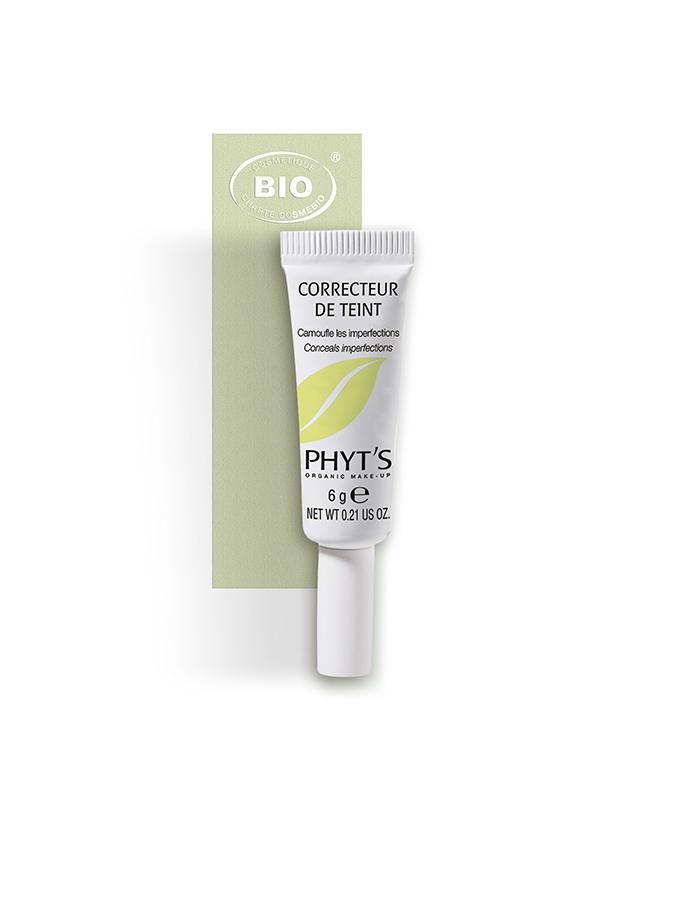 Image correcteur de teint phyts organic make up embellissetvous