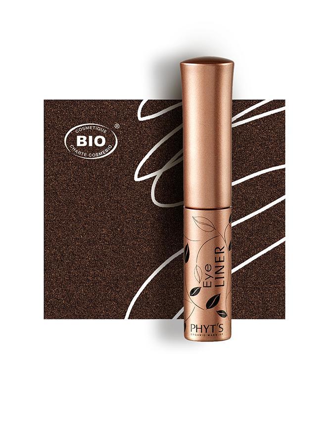 Image eye liner brun phyts organic make up embellissetvous