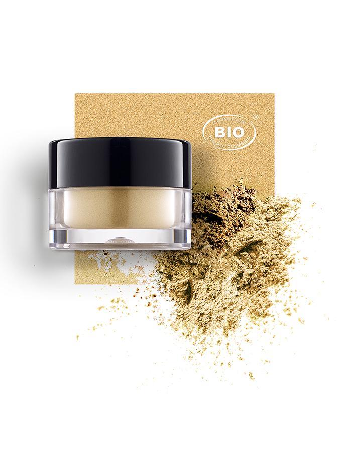 Image fard a pauieres touches de lum pepites dor phyts organic make up embellissetvous