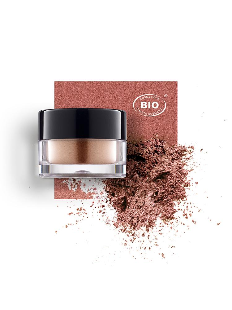 Image fard a paupieres touches de lum rose boreal phyts organic make up embellissetvous
