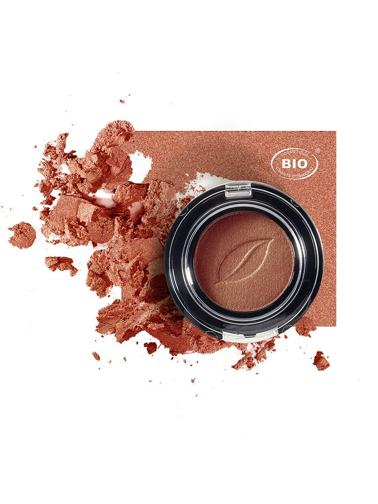 Image fard a paupieres tresor de lumiere bronze ambre phyts organic make up embellissetvous