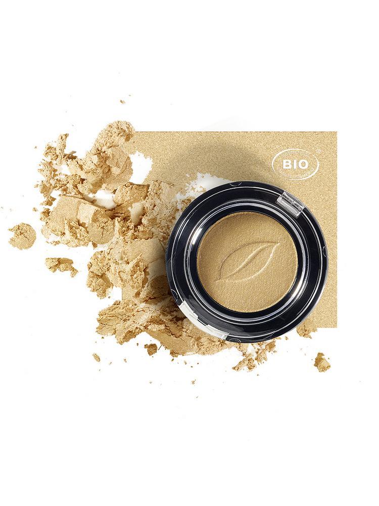 Image fard a paupieres tresor de lumiere sable dor phyts organic make up embellissetvous