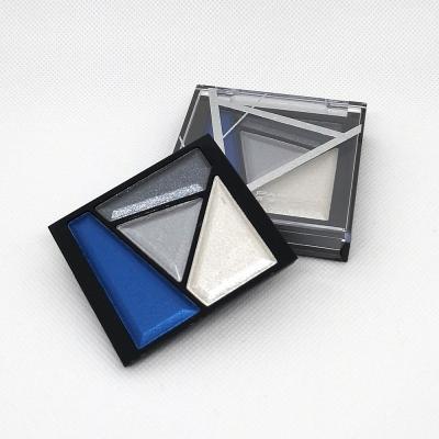 Palette Fards paupières Metallic Bleu argent - Parisax