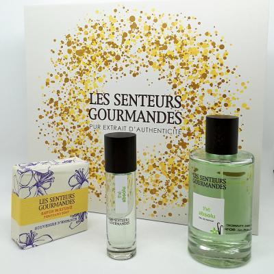 Coffret Parfum Thé absolu + Savon - LSG