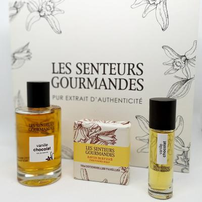 Coffret Parfum Vanille Chocolat + Savons - LSG