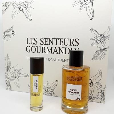 Coffret Parfum Vanille Chocolat 100ml+15ml - LSG