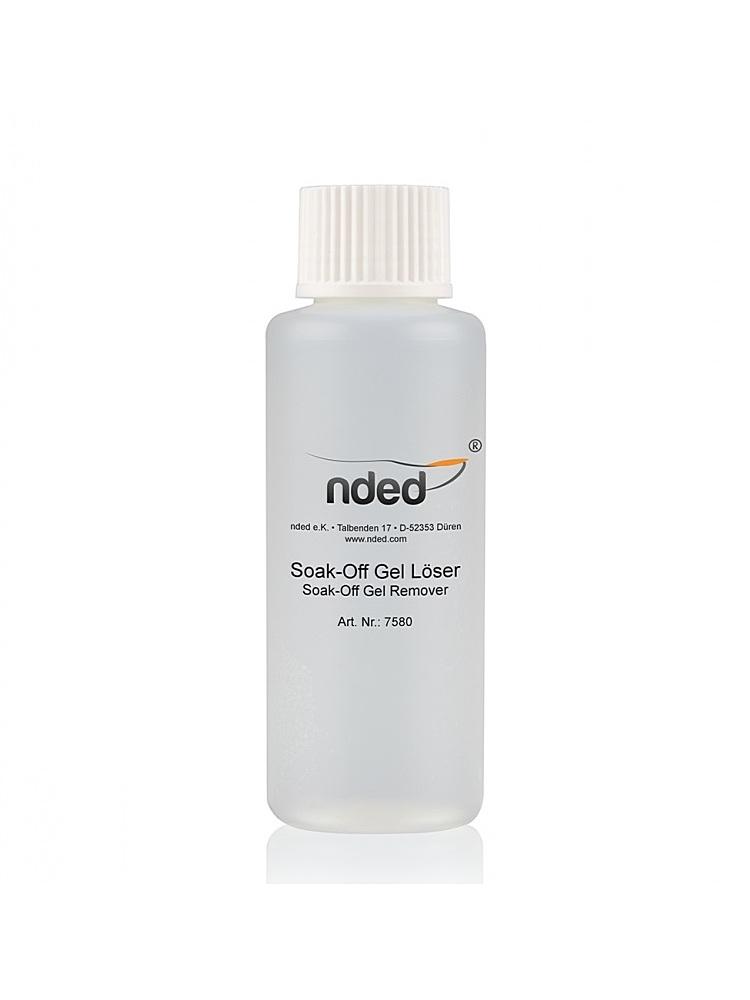 Nded soak off gel remover 100 ml 7580 embellissetvous fr