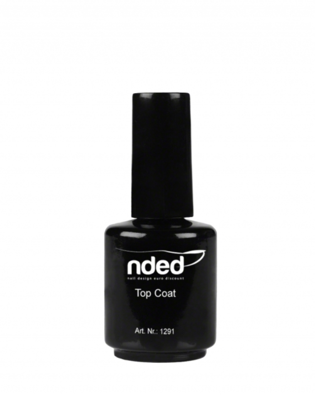 Nded top coat 1291 15ml embellissetvous fr