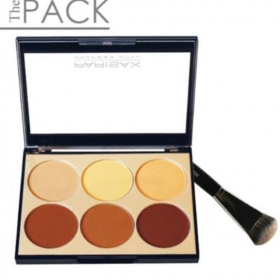 Pack Contouring Palette + Pinceau biseauté - PARISAX