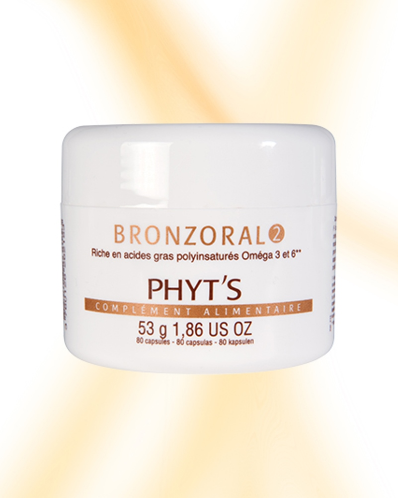 Phyts bronzoral 2 80 vegelules embellissetvous fr