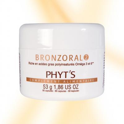 Bronzoral 2 / 80 capsules - Phyt's