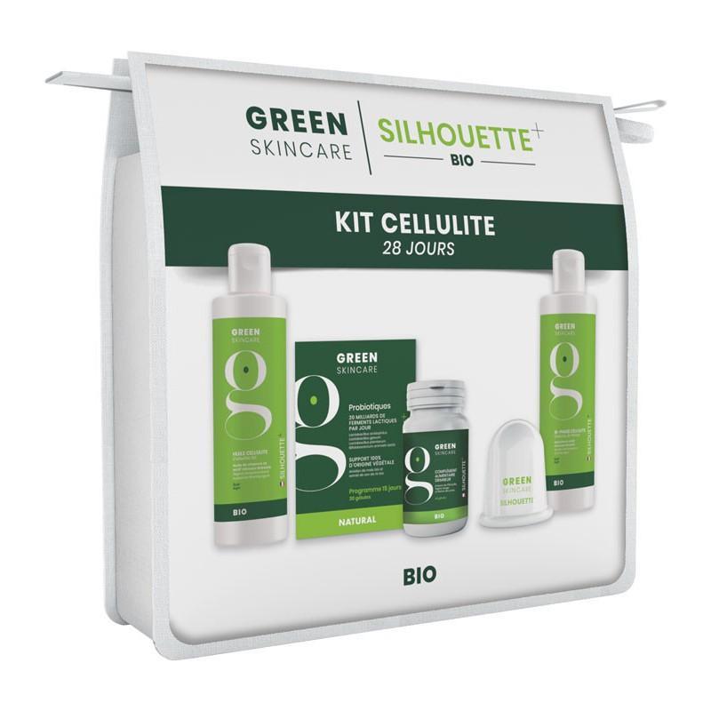 Trousse kit cellulite silhouette greenskincare embellissetvous fr