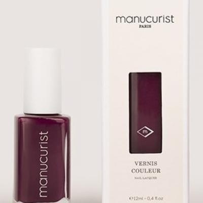 MANUCURIST - Vernis VIOLET N°1 - Cassis